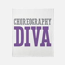 Choreography DIVA Throw Blanket