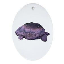 land tortoise Oval Ornament