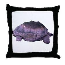 land tortoise Throw Pillow