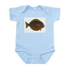 Halibut fish Body Suit