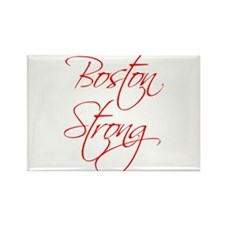 boston-strong-scr-red Rectangle Magnet
