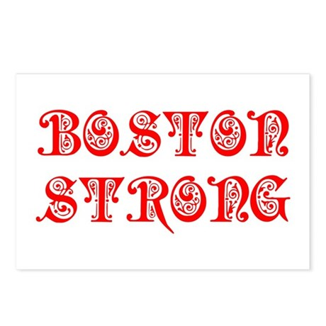 boston-strong-pre-red Postcards (Package of 8)