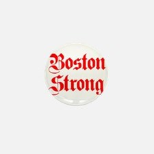 boston-strong-pl-ger-red Mini Button