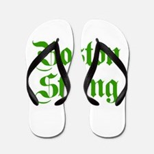 boston-strong-pl-ger-green Flip Flops