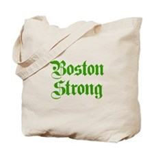 boston-strong-pl-ger-green Tote Bag