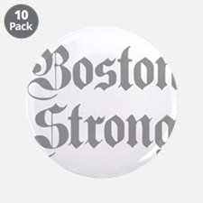 """boston-strong-pl-ger-gray 3.5"""" Button (10 pack)"""