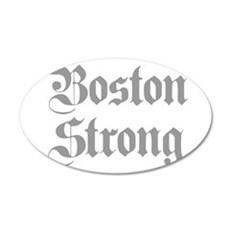 boston-strong-pl-ger-gray Wall Decal