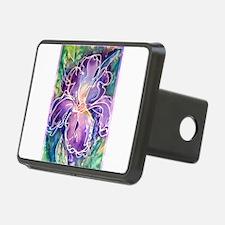 Iris! Beautiful, purple flower, Hitch Cover