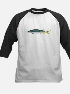 White Sturgeon fish Baseball Jersey