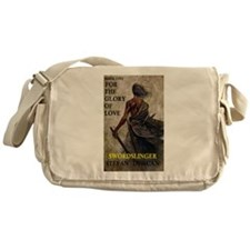 Swordslinger bookcover Messenger Bag