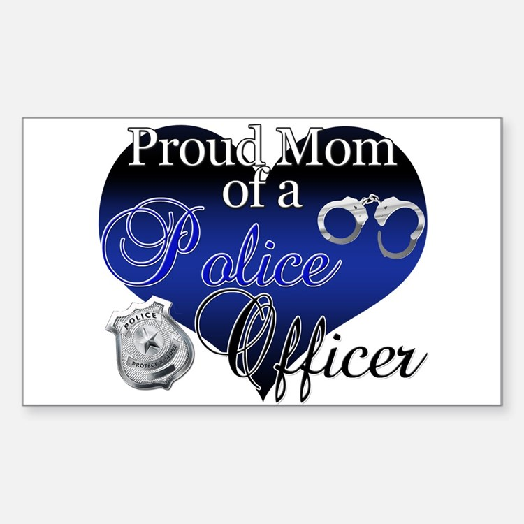 Police Mom Decal