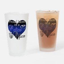 Police Mom Drinking Glass