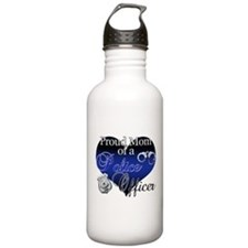 Police Mom Water Bottle