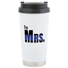 The Mrs. Police Wife Travel Mug
