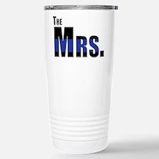 The Mrs. Police Wife Travel Mug