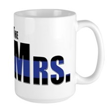 The Mrs. Police Wife Mug