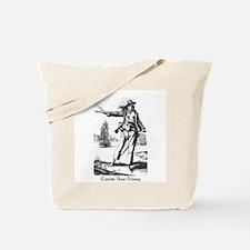 Pirate Anne Bonney Tote Bag