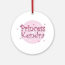 Kendra Ornament (Round)