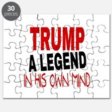 TRUMP A LEGEND IN HIS OWN MIND Puzzle