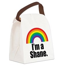 Shane Rainbow Canvas Lunch Bag
