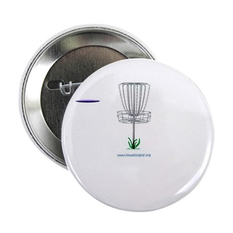 "iowa disc golf dot org 2.25"" Button (10 pack)"