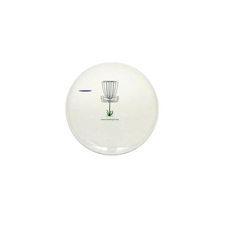 iowa disc golf dot org Mini Button