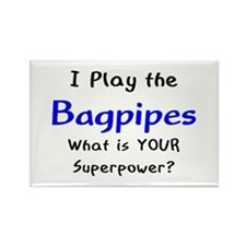 play bagpipes Rectangle Magnet