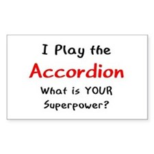 play accordion Decal