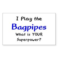 play bagpipes Decal