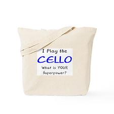 play cello Tote Bag