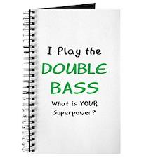play double bass Journal