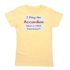 play accordion Girl's Tee