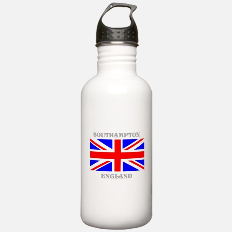Southampton England Water Bottle