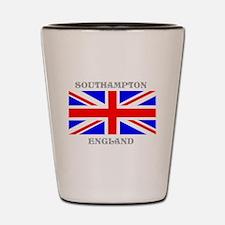 Southampton England Shot Glass