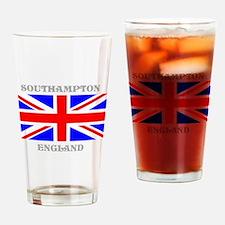Southampton England Drinking Glass