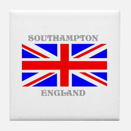 Southampton England Tile Coaster