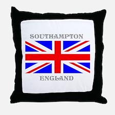 Southampton England Throw Pillow