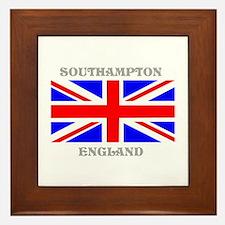 Southampton England Framed Tile