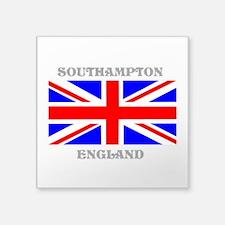 """Southampton England Square Sticker 3"""" x 3"""""""