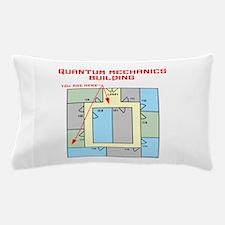 Quantum Mechanics Building Pillow Case