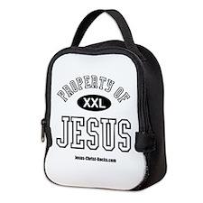 Property of Jesus_W.png Neoprene Lunch Bag