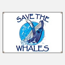 Save the Whales Banner