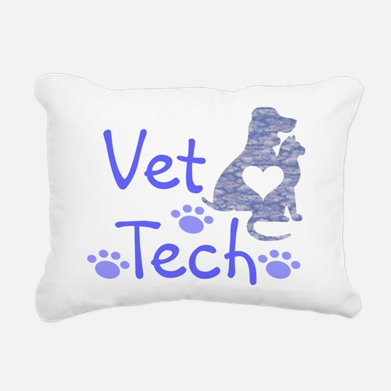 Vet Tech #110 Rectangular Canvas Pillow