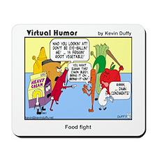 Mousepad - Food fight