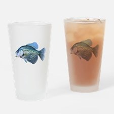 Crappie Drinking Glass