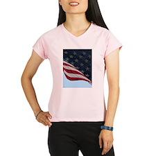 Stars and Stripes Peformance Dry T-Shirt
