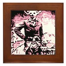 fennec fox Of the revolution Framed Tile