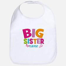 Personalized Name - Big Sister Bib