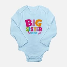Personalized Name - Big Sister Body Suit