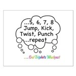 The Triplets Workout Small Poster